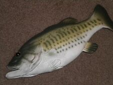 BASS FISH, REAL LOOKING FOR SECRET STASH, GEOCACHEING GEOCACHE CONTAINER