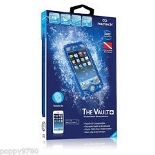 Naztech Vault+ Impermeabile iPhone 5/5s Custodia Resistente w/ Touch ID - Blu