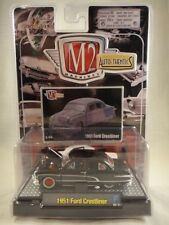 M2 Machines Auto-Dreams 1951 Ford Crestliner Black NEW 1:64 scale