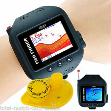 Orologio Wireless Fish Finder, Sonar, Antenna, BARCA, KAYAK, CANOA. 60 METRO gamma,