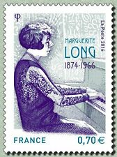 france 2016 Marguerite Long art artist piano Klavier pianoforte 1v mnh **