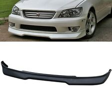 Fit 01-05 IS300 Poly Uurthane Black Front Bumper Lip Spoiler Body Kit
