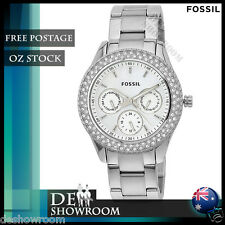 Fossil Women's Stella Multifunction Stainless Steel Watch ES2860