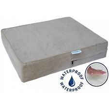 """Waterproof Pet Bed Dog Memory Foam Orthopedic Joint Relief Aches 36"""" x 28"""" x 4"""""""