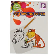 A4 Tracing / Transfer Paper Notepad - 40 Sheets - Size 297mm x 210mm