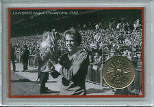 Liverpool Vintage League Champions The Anfield Kop Retro Coin Fan Gift Set 1980