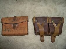 Vintage Russian Mosin Nagant Ammo Pouch. Vietnam Nam Survival kit no contents.