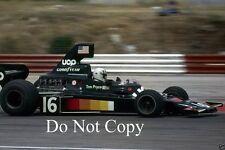Tom Pryce Uop Shadow DN5 F1 temporada 1975 fotografía