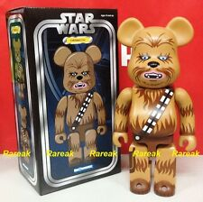 Medicom 2016 Be@rbrick Star Wars 400% Han Solo Animal Chewbacca Bearbrick