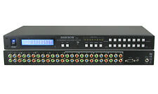 8x8 (8:8) Component Video (no audio) HDTV Matrix Routing Switch Switcher SB-8802