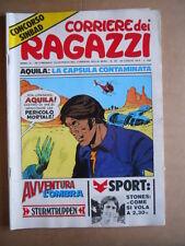 CORRIERE DEI RAGAZZI n°30 1974 con inserto Albo Avventura   [G556]