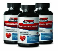 Blood Pressure Support 820mg - Healthy Stress Level Response Supplements 3B