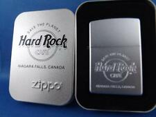 ZIPPO LIGHTER NIAGARA FALLS CANADA HARD ROCK CAFE SAVE THE PLANET NEW 2007 MINT