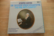 HAYDN THE FINE ARTS QUARTET Die Grossen Streichquartette 9LP box SEALED FSM 105