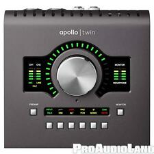Universal Audio Apollo Twin MKII SOLO Thunderbolt Recording Studio Interface NEW