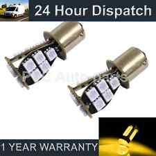 2x 581 BAU15s PY21W XENO ambra 18 SMD LED Anteriore Indicatore Lampadine fi201402
