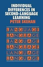 Individual Differences in Second-Language Learning (Second Language Acquisition