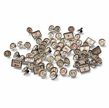 Typewriter Vintage Antique Style Key Caps - Parchment Alchemy - Cherry MX