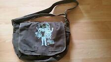 Out of Jimmy's Head Cartoon Network CN Green Canvas Script / Messenger Bag