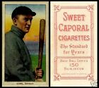 LOT of 25 REPRINT 1909 T-206 TY COBB Bat Off Shoulder SWEET CAPORAL  back