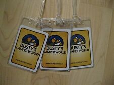 Dusty's Camper World Luggage Tags - Florida RV Playing Card Name Bag Tag Set (3)