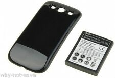 replacement extended battery and back cover for Samsung Galaxy S 3 i9300 phone