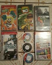 PSP 6 Game and1 Movie only SOLD AS IS