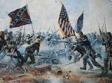 """The Angle"" by Mort Kunstler Civil War"