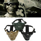 Airsoft Skirmish Paintball Hunting Tactical Strike Skull Half Face Protect Mask