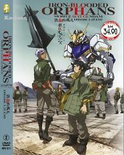 DVD Japan Anime Mobile Suit GUNDAM IRON-BLOODED ORPHANS Series (1-25) Eng Sub