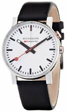 Mondaine Unisex A468.30352.11SBB Evo Big Analog Display Swiss Quartz Black Watch