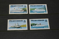 PITCAIRN ISLANDS 1991 CRUISE SHIPS SET OF 4  FINE M/N/H COND