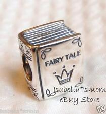NEW 100% Authentic PANDORA Fairy Tale Book ONCE UPON A TIME Charm~Bead 791109