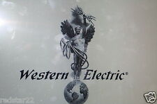 HUGE SET of Western Electric - Electron Tube Data Charts PDF on CD