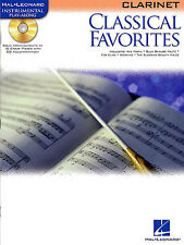 Classical Favourites Learn to Play Mozart Bach Clarinet Sheet Music Book & CD