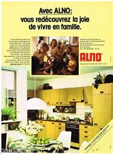 PUBLICITE ADVERTISING 095  1978  ALNO  cuisines équipées