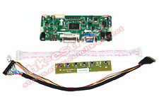HDMI+DVI+VGA LCD Controller Board for 1600X900 Laptop LED Screen DIY Monitor@USA