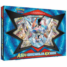 POKEMON XY: ASH GRENINJA EX COLLECTOR BOX - BOOSTER PACKS + PROMO CARDS