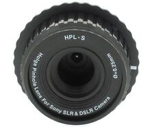 NEW Holga HPL-S Pinhole 0.25mm Lens for Sony SLR and DSLR Cameras