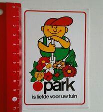 Aufkleber/Sticker: Park is liefde voor uw tuin (01071655)