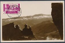 1935 Villa Alhucemas Spanish Morocco Real Picture Postcard Cover Zarkat View