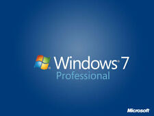 Microsoft Windows 7 Genuine Professional 32 | 64bit Full Version License COA Key