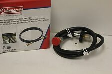 Coleman Propane Gas Hose Adapter 5 Foot Cylinder New