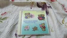 Janome 8000 & Others #18 Teddy Bears Memory Embroidery Card EXC Pre-Own