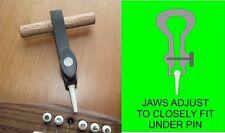Puente De Guitarra Pin Extractor. puente Pin Remover. Ajustable mandíbulas. Tf030