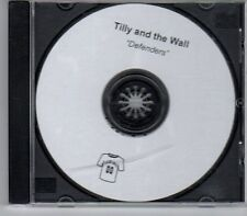 (DY920) Tilly & The Wall, Defenders - 2012 DJ CD