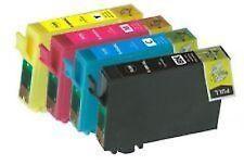 4 XL Ink Cartridges for Epson Stylus S22 SX125 SX130 SX420W SX425W SX445W SX DX