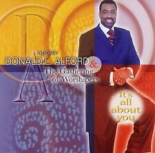 FREE US SH (int'l sh=$0-$3) NEW CD Apostle Donald Alford: It's All About You