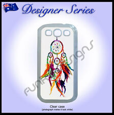 Designer Samsung Galaxy S3 case hard cover Art Collection Colourful Dreamcatcher