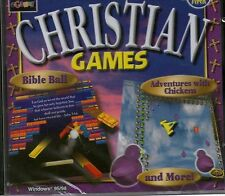 CHRISTIAN GAMES - BIBLE BALL - CHRISTIAN WORD SEARCH - ADVENTURES WITH CHICKENS
